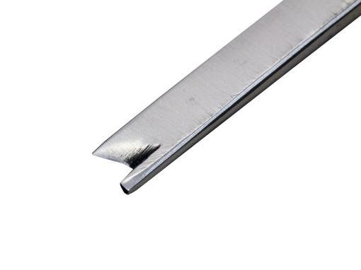 Cinzel Com Guia em Baioneta 3mm Para Artroscopia - Cirurgia de Dedo em Gatilho