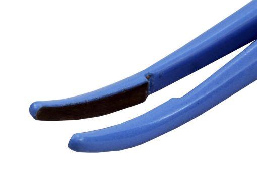 Pinça Bipolar Hemostática Curva 20cm