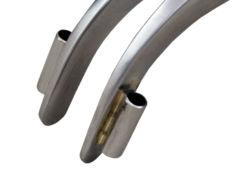 Afastador Spreader Curvo 15cm com Passador de Fio