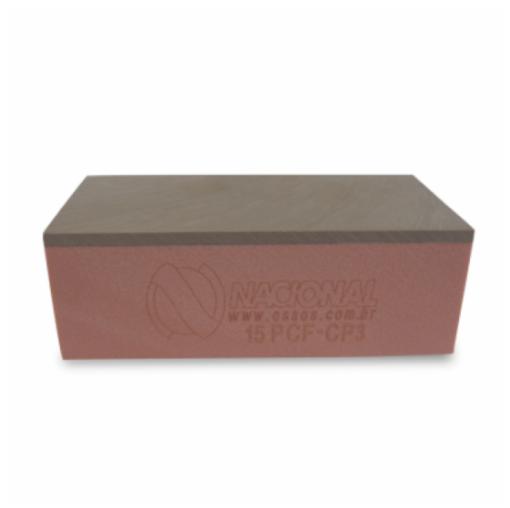 15PCF-CP3 - Corpo De Prova Com Cortical 3mm - L 4,5 X C 9,5 X A 3,3 cm