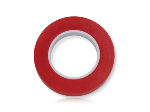 Fita Colorida Vermelha 3mm