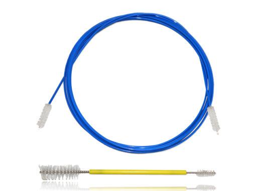 Escova Para Limpeza de Endoscópios Rígidos Flexíveis 6,5 x 20 mm x 257 cm e 4,5-10 x 18-30 x 150 mm