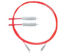 Escova Para Limpeza de Endoscópios Rígidos Flexíveis 5 x 20 mm x 230 cm