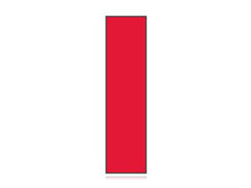 Fita Em Folha Colorida Vermelha 3mm