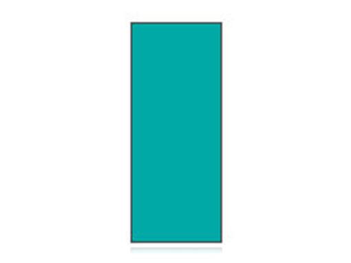 Fita Em Folha Colorida Verde Esmeralda 6mm