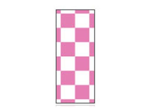 Fita Em Folha Colorida Branco/Rosa 6mm
