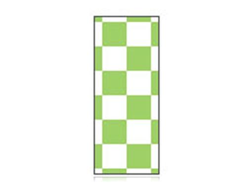 Fita Em Folha Colorida Branco/Verde Limão 6mm
