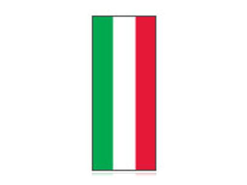 Fita Em Folha Colorida Verde/Branco/Vermelho 6mm