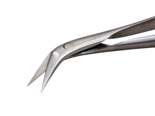 Micro Tesoura Potts Yasargil 18cm 45°
